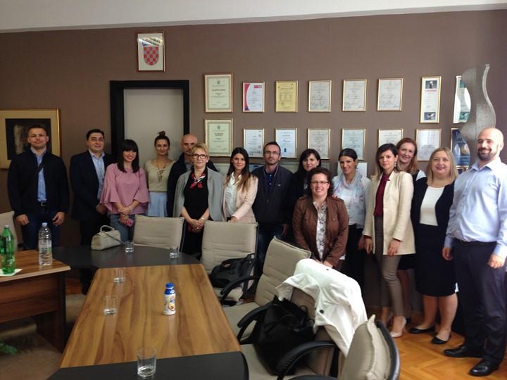 U ponedjeljak, 27. siječ godine u Maloj vijećnici Grada Poreča-Parenzo održan je sastanak predstavnika gradskog Upravnog podjela.