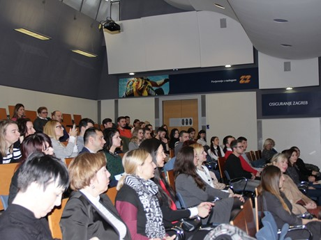 The Private Sector Youth Initiative Presented at the Faculty of Economics in Zagreb